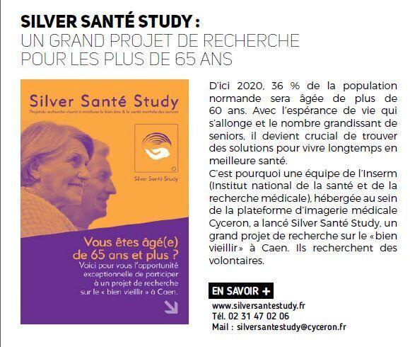 Caen mag un grand projet de recherche pour les plus de 65ans