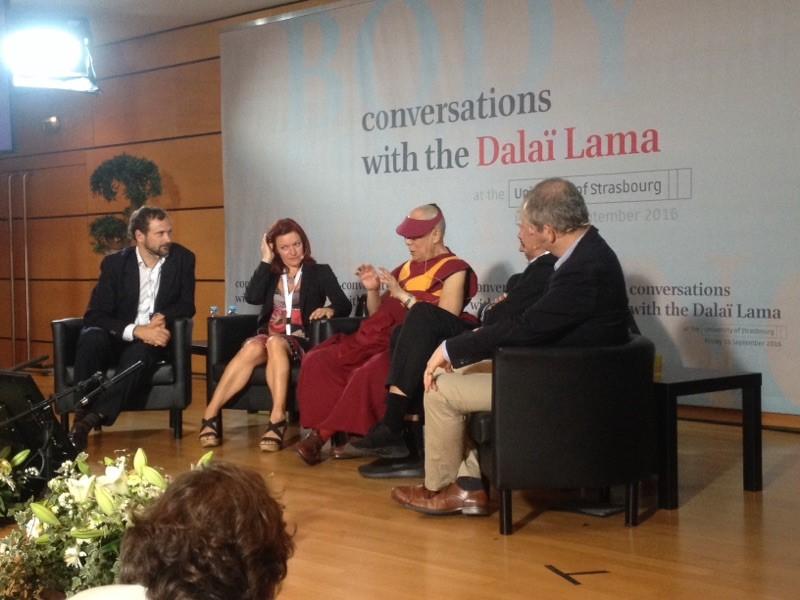 Rencontre avec le Dalaï Lama